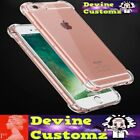 Iphone 5 5 SE 6 6S 7 7 plus 8 X 10 Clear Case Bumper Full 360 Protection