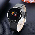 Newest! Q8 0.95 OLED Color Screen With Blood Pressure Heart Rate Smart Watch&USA