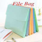 1Pc Cute Smile A4 PVC Bag School Office Supplies File Folder