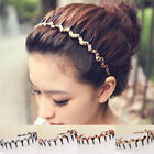 Women Wave-Shaped Leopard Toothed Hair Hoop Headband Hair Band Jewelry Trendy EV