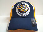 Nashville Predators Adidas Cap NHL Hockey 2018 Official Stretch Fit Fitted Hat
