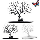 Jewelry Deer Tree Stand Display Organizer Necklace Ring Earring Holder Rackprlr