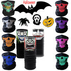 Halloween Skull Masks Skeleton Face Mask Neck Ghost Scarf Headwear 11 Styles