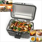 Portable Microwave Stove Oven Lunch Box For Pre-Cooked Meals 12V Car Truck Plug