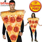CA523 Pizza Slice Fancy Dress Food Funny Novelty Mens Womens Stag Hens Costume