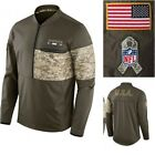 Nike NFL Men's Salute to Service Hybrid Jacket Dallas Cowboys Miami Dolphins NWT on eBay