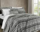 Sterling Creek Luxor 3-Piece Chenille Jacquard Optical Geometric Coverlet Set image