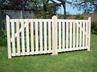 Budget Single Wooden Driveway Gate.  3ft x 2ft 6
