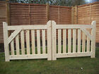 Wooden -Driveway (Pair of Gates )  4ft High