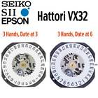 New Japan Seiko SII / TMI / Epson VX32 Watch Movement, 10 1/2, 3 Hands D3 or D6 image