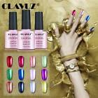 CLAVUZ UV LED Soak Off Gel Nail Polish Metal Lacquer Varnish