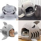 Shark Mouth Teddy Pet Dog Cat Bed House Doggy Puppy Warm Kennel Cushion Pad Bed