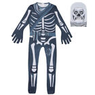 Halloween Adult Kids Fortnite Cosplay Costume Skull Trooper Flytrap Clothes New