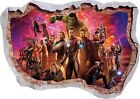 Cheap Stores For Home Decor Marvel Avengers Super Heros Hulk 3d Smashed Wall View Sticker Poster Vinyl 948 Decorative Canoes Home Decor