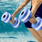 1 Pair Water Aerobics Dumbbell EVA Aquatic Barbell Fitness Aqua Float Training image