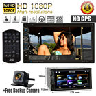 7'' HD Digital Touch Screen 2din Car Stereo DVD CD MP4 Player Bluetooth Radio US