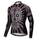 Men's New Cycling Jersey Breathable Tight Bike Clothing Bicycle Long Sleeve Tops