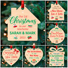 1st First Christmas in NEW HOME PERSONALISED Xmas Tree Decorations Baubles Gifts