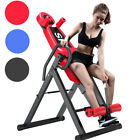 Heavy Duty Inversion Table Back Pain Relief Therapy Fitness Exercise Adjustable image