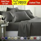 Kyпить DEEP POCKET 1800 COUNT BAMBOO SERIES 6 PIECE BED SUPER SOFT SHEET SET MOST SIZES на еВаy.соm