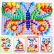 Children Puzzle Peg Board & 296 Pegs For Kids Educational Toys Creative Gifts @L