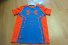 NWT Under Armour Youth Boys YLG Large Fitted Heat Gear Orange Blue