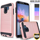 For Samsung Galaxy A6 Phone Case, With Tempered Glass Protector + Stylus Pen