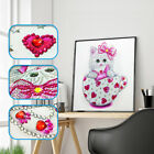 Special Shaped Diamond Painting DIY 5D Partial Drill Cross Stitch Kits Crystal L