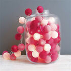 1 pcs Battery String Cotton ball Christmas Day Lamp string flash light Decor