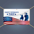HAPPY VETERAN'S DAY Honoring All Who Served Army Remembrance Day Decor Banner
