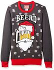 **SALE** NEW Hybrid Men's Beerd Ugly Christmas Sweater Fast Free Shipping