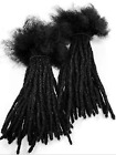 "Внешний вид - 100% Human Hair Dreadlocks Extensions Handmade Medium 1/4"" Width 10 Per Bundle"