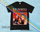 NEW LIMITED Inspired By MADONNA Tee Merch Hip Hop Tour Rare Vintage T-SHIRT z9a