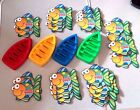 LOOSE - GO FISH - 1996 FISHER PRCE FISHING GAME - CHILDREN AND BABY
