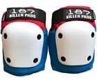 187 Killer Pads - Fly Knee Pads - Red White Blue roller derby skateboard safety image