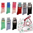 Novelty Joke Socks in a Christmas Gift Box Secret Santa Stocking, Golf, Prosecco
