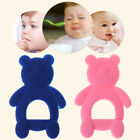 Baby Teether Bear Cute Teething Toy Pacifier Newborn Infants Food Grade Silicone