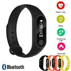 IP67 Bracelet Wristband Fitness Tracker Heart Rate Monitor M2 Smart Watch