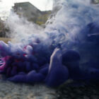 Colorful Smoke Cake Effect Show Round Bomb Photography Aid MV Videos Toy Gifts