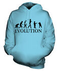CONKERS EVOLUTION OF MAN UNISEX HOODIE MENS WOMENS LADIES GIFT HORSE CHESTNUT