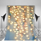 Dreamy Halo Backgrounds Wall 5x7ft Vinyl Glittering Photo Backdrop Studio Props