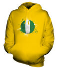 NIGERIA FOOTBALL UNISEX HOODIE TOP GIFT WORLD CUP SPORT