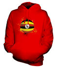 UGANDA FOOTBALL UNISEX HOODIE TOP GIFT WORLD CUP SPORT