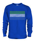 SIERRA LEONE SCRIBBLE FLAG UNISEX SWEATER  TOP GIFT LEONEAN FOOTBALL