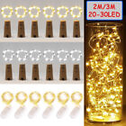 Внешний вид - 20/30 LED Wine Bottle Cork Shape Lights Night Fairy String Light Lamp Xmas Party