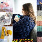 Women Wool Yarn Iceland Thick Woolen Chunky Yarn Bulky Roving Big Knitting Thick image