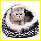 SUPER Warm Cat Cave Bed Dog House Puppy Kennel Shelter for Kitty Rabbit NEW