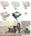 Beautyrest Heated Electric Blanket Wrap Sherpa Heating Cozy Winter Body Cover