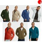 Men's Soak Outwear Activewear Sweater Winter Solid Soft Comfort Cozy Jacket