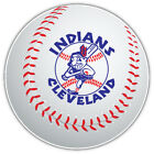 Cleveland Indians MLB Logo Ball Car Bumper Sticker Decal - 9'', 12'' or 14'' on Ebay